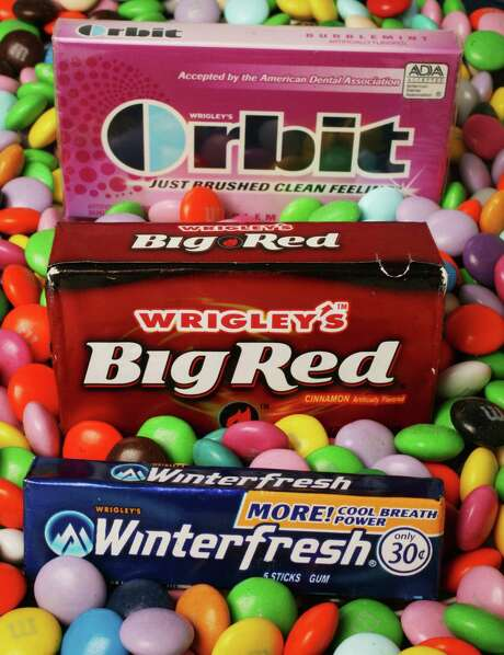 Mars is combining Wrigley with its chocolate business, bringing together M&Ms and Snickers with Doublemint gum and Altoids mints. Photo: Associated Press /File Photo / AP