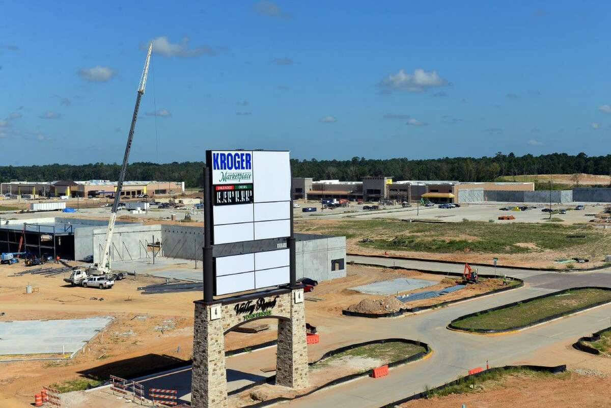 The 240-acre Valley Ranch Town Center is under construction. The first phase is expected to open in Fall 2016.