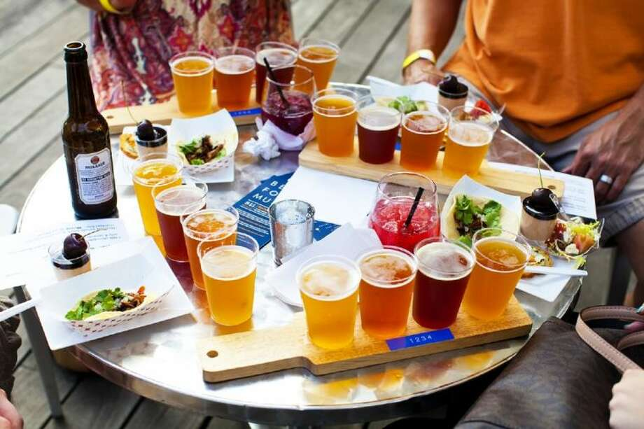 Sundown craft beer-tastings run every Wednesday starting July 9 throught Sept. 17 at The Grove in Discovery Green in downtown Houston.
