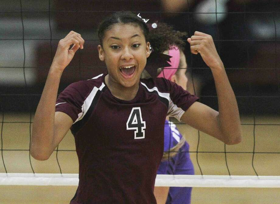 Sophomore middle blocker Alex Glover is one of Magnolia's top returning players this season.