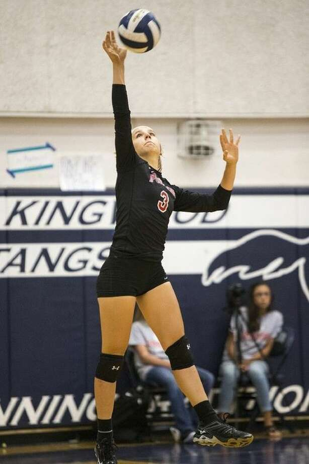 Sophomore libero Laura Tonchina is one of Porter's top returning players this season.