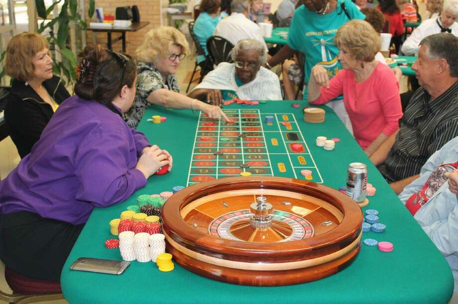 Roulette is one of the popular games at the annual Casino Extravaganza, open to everyone at the Friendswood Activity Building on Friday, August 12.