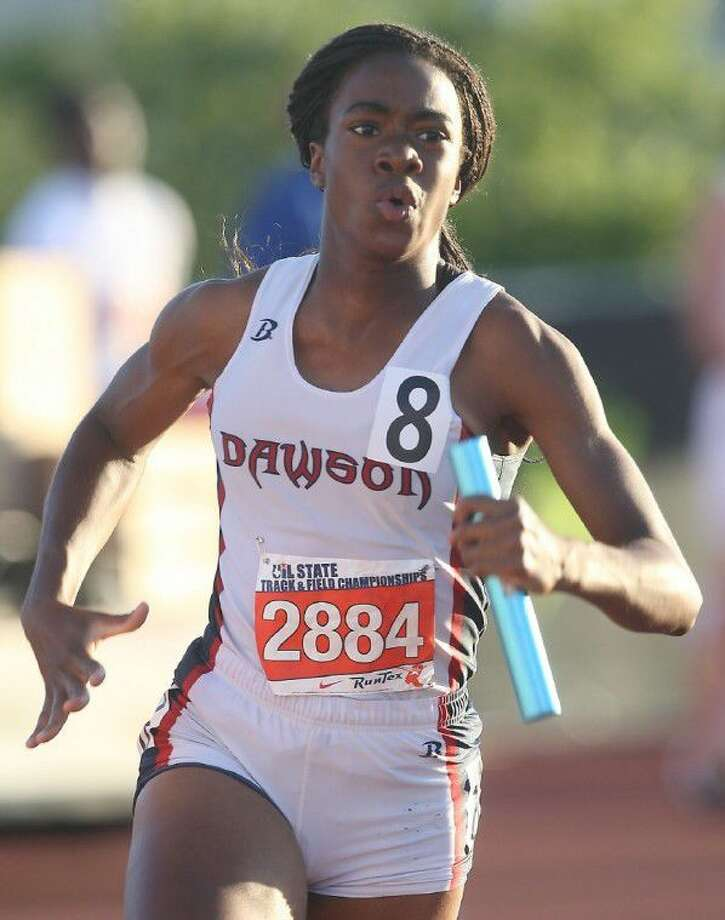 Dawson graduate Cybil Obiozor was one of eight Rice University student-athletes recognized as U.S. Track & Field Cross Country Association All-Academic honorees, an award that honors those who excel both in meets and in the classroom. Photo: HCN File Photo