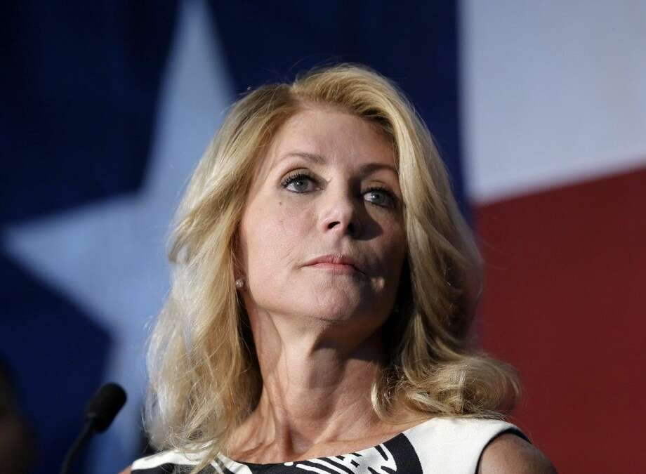 AP photoIn this Aug. 26 file photo, Texas Democratic gubernatorial candidate Wendy Davis presents her new education policy during a stop at Palo Alto College in San Antonio.