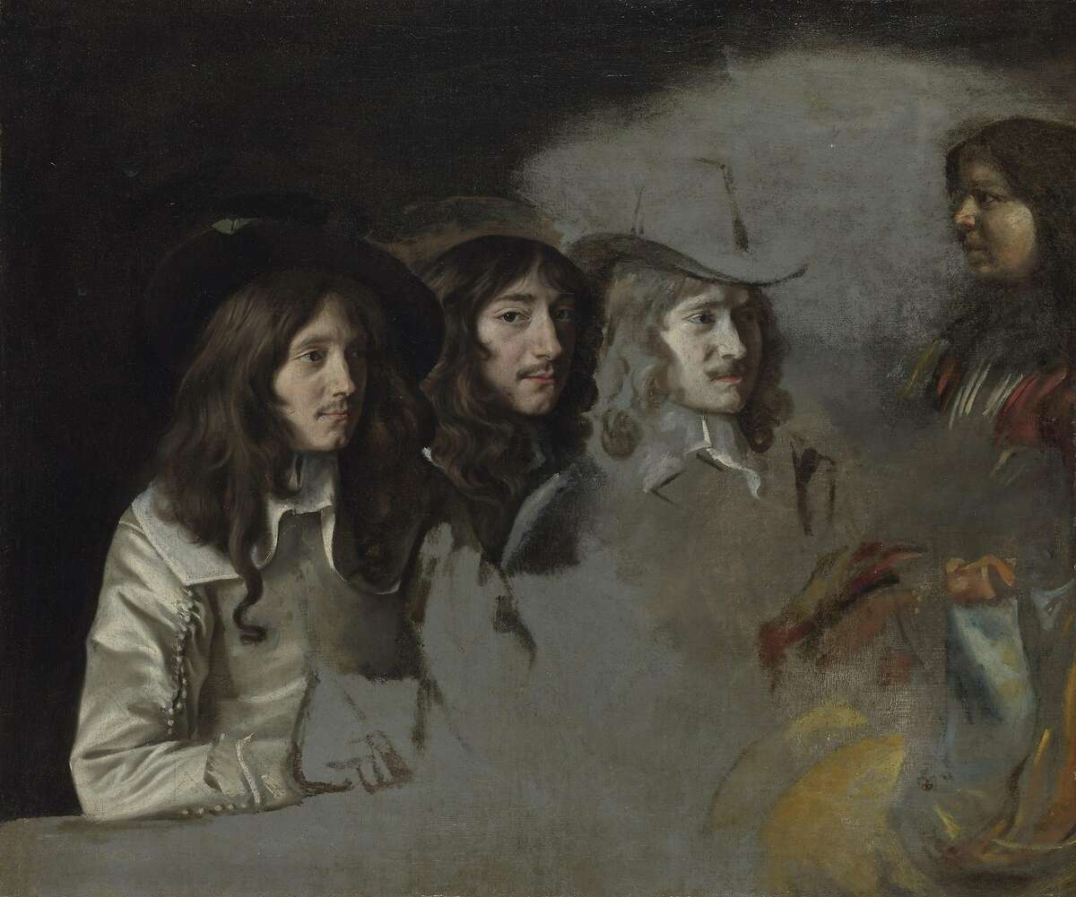 """Le Nain, """"Three Men and a Boy"""" (1640-1645)"""