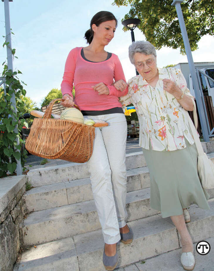 Caring for an aged or ill loved one can mean playing many roles. (NAPS)