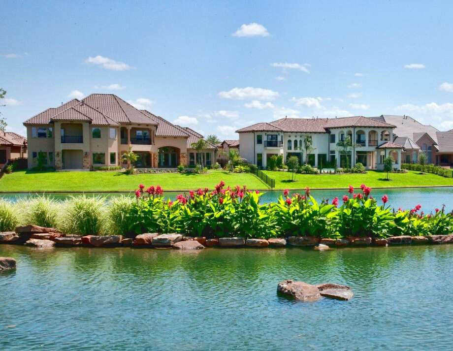 Johnson Development Corp. is the only developer to have four projects listed on a recent mid-year ranking of the nation's 30 best-selling developments. Shown are homes in Riverstone. Photo: Submitted Photo