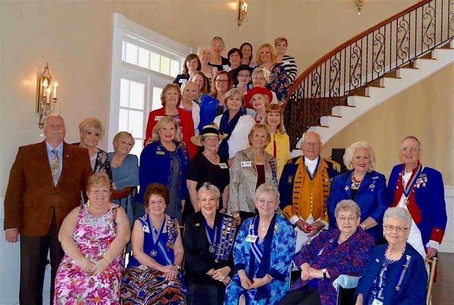 Pictured are members of the United States Daughters of 1812, Thomas Bay chapter, at the recent Awards Luncheon held at the August Pines Golf Club. Photo: Submitted Photo