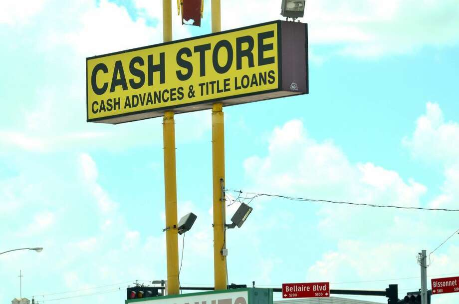 A payday lender business is seen near the intersection of Bellaire Boulevard near Bissonnet Street on Tuesday. Businesses like these were the center of a recent Bellaire city council debate, though any further action by council would not affect existing businesses, officials said. Photo: Jay R. Jordan