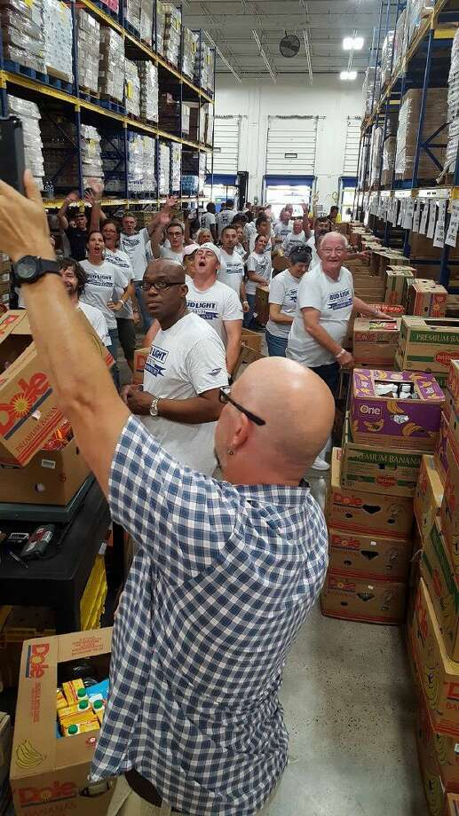 The Montgomery County Food Bank hosted Silver Eagle Distributors and Bud Light Houston for Bud Light Gives Back to Montgomery County on July 21. Photo: Submitted