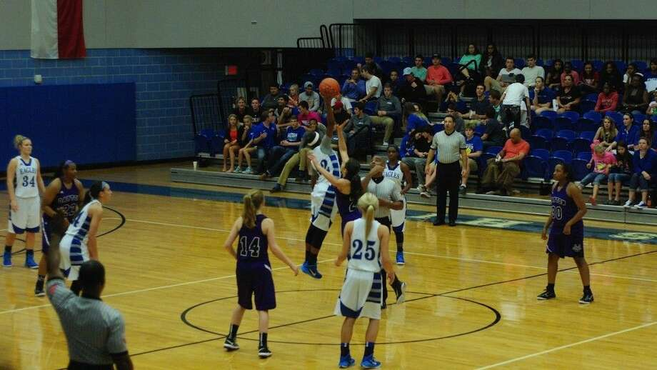 The Barbers Hill Lady Eagles took the tip and took the game, 85-45, over the visiting Dayton Lady Broncos Friday evening, Dec. 5, 2014. Photo: Casey Stinnett