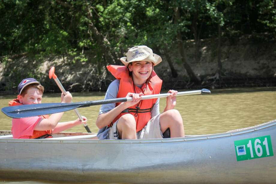 Canoeing is just one of the many opportunities for fun offered by Harris County Precinct 4. Photo: Submitted Photo