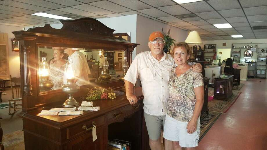 Debbie Crapse and Steve Miller must close Reeves Furniture in Kingwood at the end of August due to flood damage incurred after the Memorial Day floods.