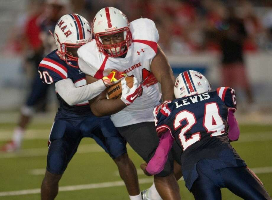 District rivals Bellaire and Lamar resume their series Oct. 29 at Delmar Stadium. Bellaire gave Lamar its closest district game last year, 31-14. Photo: Kevin Long/GulfCoastShots.com