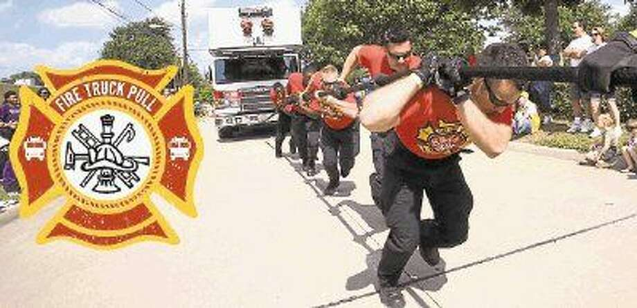 The 2014 Fire Truck Pull to raise money for Special Olympics is set for Saturday, Oct. 18 at 8 a.m. in front of Bellaire City Hall. The public is invited to form a team and participate. Photo: Submitted