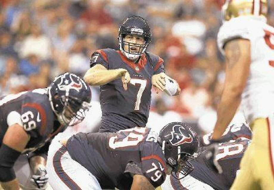 Former University of Houston star Case Keenum was waived by the Texans.