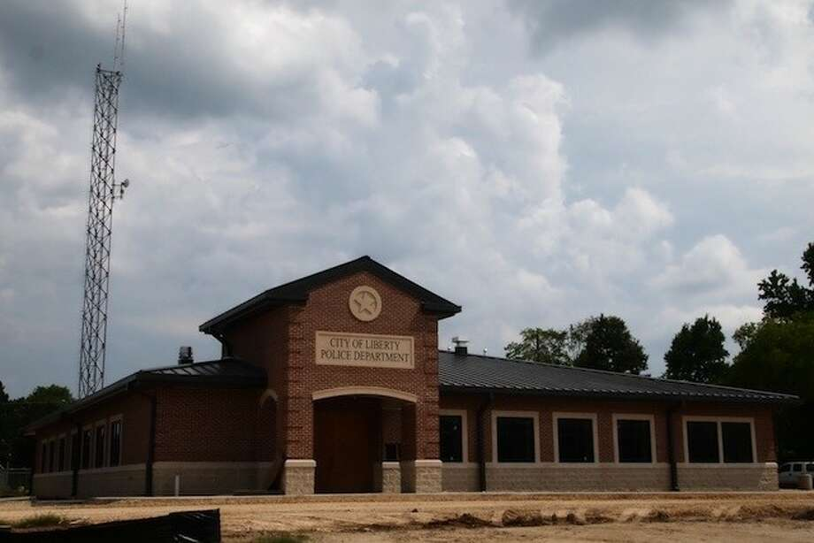 The City of Liberty's new police department building is nearly finished. It is expected to be ready for use by the end of August. Photo: CASEY STINNETT