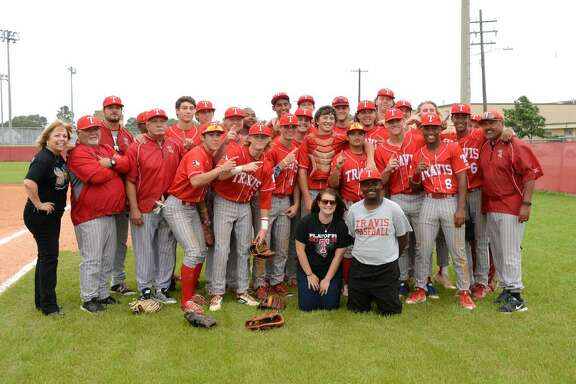 The Travis baseball team finished 25-5-1 including an undefeated district championship and a bi-district victory, led by Texas Sports Writers Association first-team all-state selections Wesley Faison (.463, 4 HR, 28 RBI) and Cole Turney (.344, 6 HR, 28 RBI).