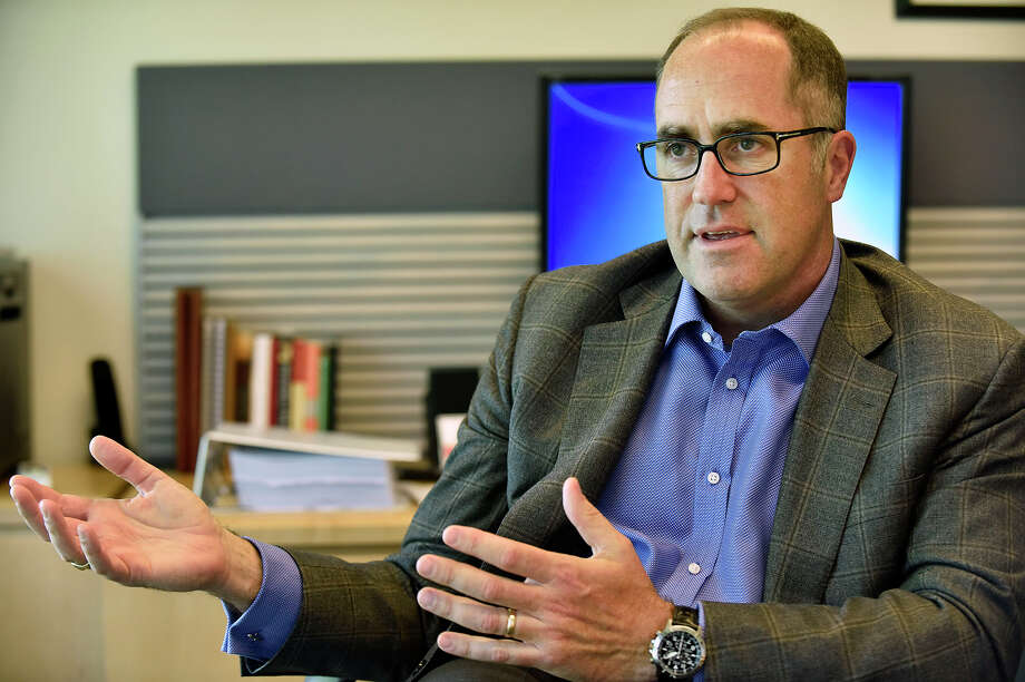 Doug Haynes, president of Point72 Asset Management, gave the keynote speech Oct. 6, 2016, at the Global Alpha Forum in Stamford. Photo: File Photo / Stamford Advocate