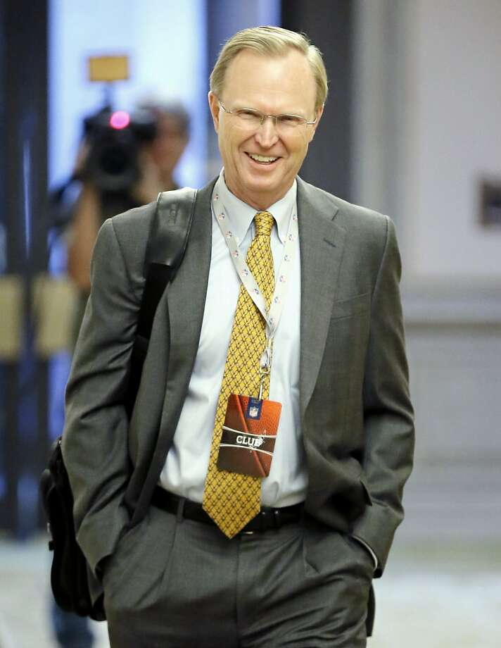 New York Giants owner John Mara arrives for an NFL owners meeting in Irving, Texas, Wednesday, Dec. 2, 2015. (AP Photo/Brandon Wade) Photo: Brandon Wade, Associated Press