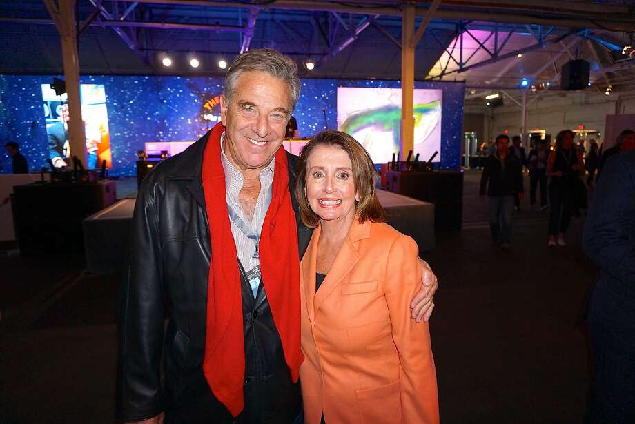Paul Pelosi and his wife, Rep. Nancy Pelosi, who was lauded for early AIDS activism by Bono during the Concert for the Kids at the Cow Palace Oct. 5, 2016. Photo: Catherine Bigelow, Special To The Chronicle