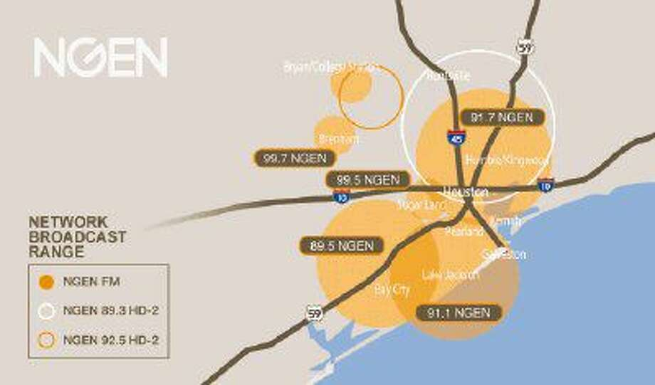 NGEN's coverage areas.