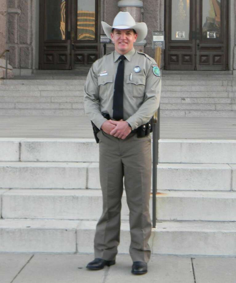 Jake Noxon is the new game warden for Liberty County. He previously was a game warden in Maverick County. Photo: Submitted