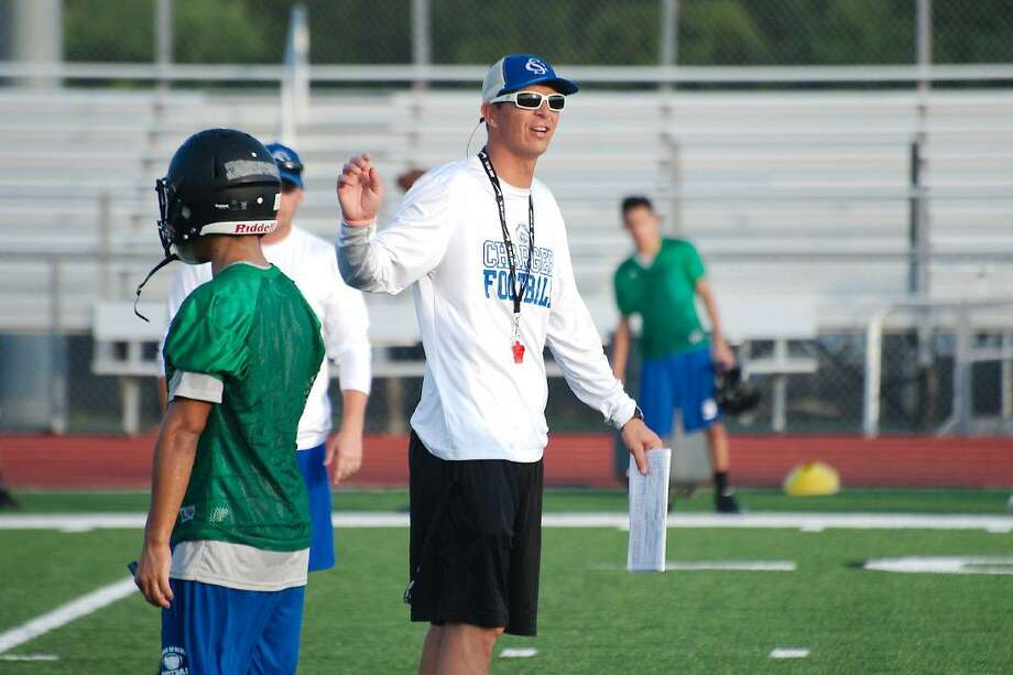New Clear Springs head football coach Craig Dailey hopes his team can make great strides prior to the Chargers' season opener against Pearland. Photo: Kirk Sides