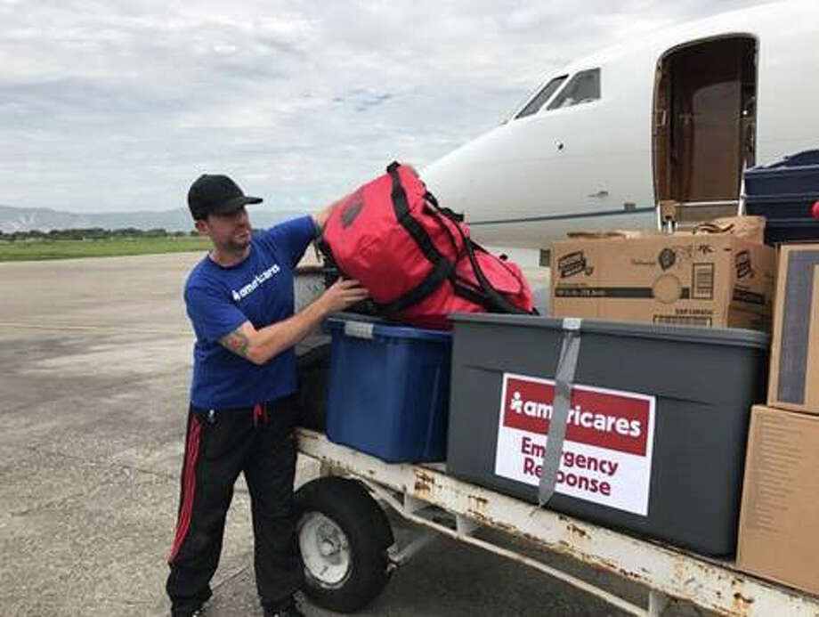 A relief flight carrying medicine and relief supplies from Americares arrives in Port-au-Prince, Haiti, on Oct. 6, 2016. Photo courtesy of Americares. Photo: Courtesy Of Americares