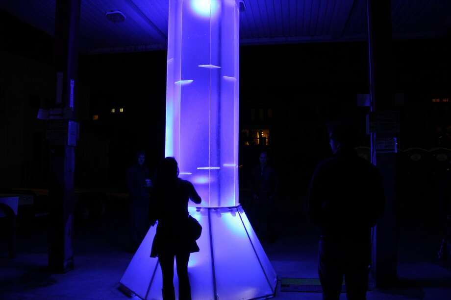 Festival goers have the opportunity to experience immersive environmental projects during the Day for Night Festival being held December 19-20 outside of downtown Houston. Photo: Vagney Bradley