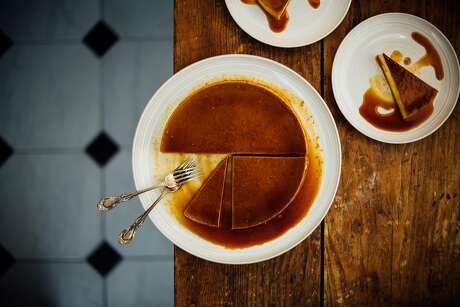 Brown Kitchen: Pumpkin flan