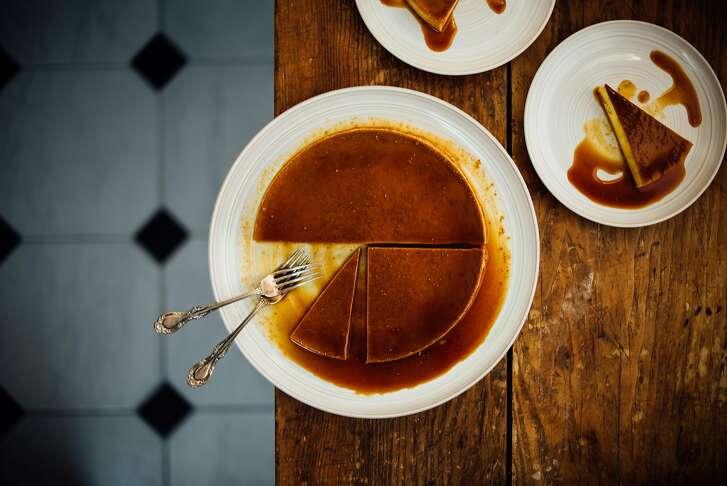 Brown Kitchen: Pumpkin flan