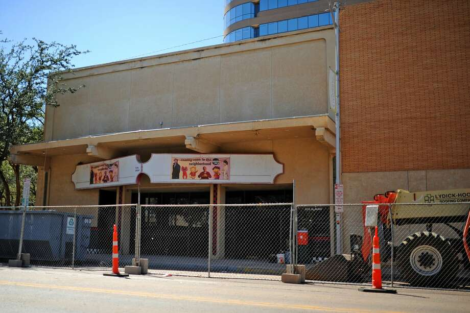 Future home of Basin PBS, the former Ritz Theater, photographed during renovation Wednesday, Oct. 5, 2016. James Durbin/Reporter-Telegram Photo: James Durbin