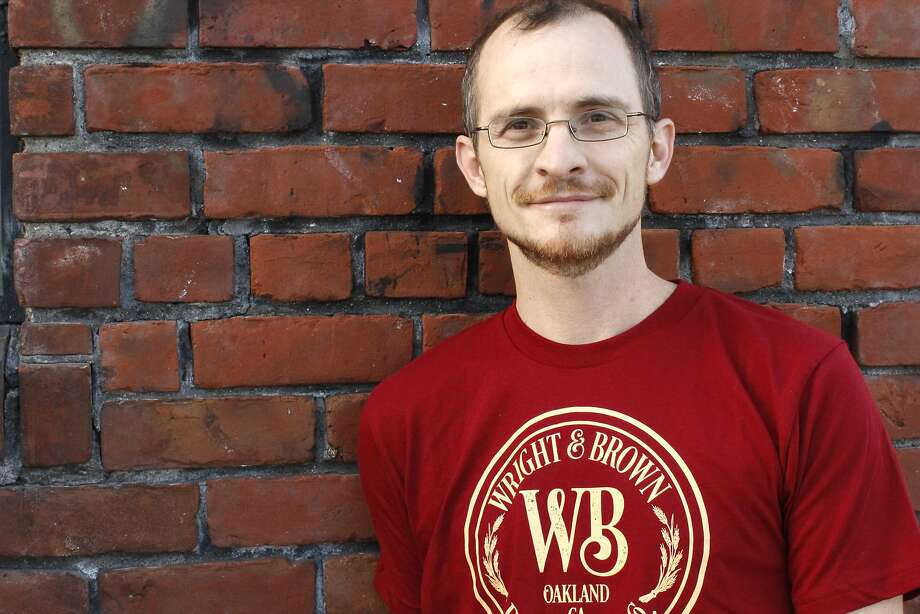 Earl Brown of Wright & Brown Distilling Co. in West Oakland. Photo: Wright & Brown