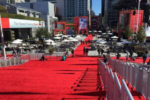 Scenes from Oracle OpenWorld in September 2016, when an entire block of Howard Street closes down for a four-day conference that's also an exercise in pop-up urban design. These photos are from Sept. 22, the final day, when many of the attendees already had departed.
