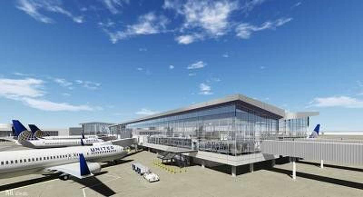 The $244 million project will create a 265,000-square-foot facility, more than 100,000 square feet larger than the existing Terminal C North, with 11 passenger boarding gates to accommodate a mix of United's aircraft.