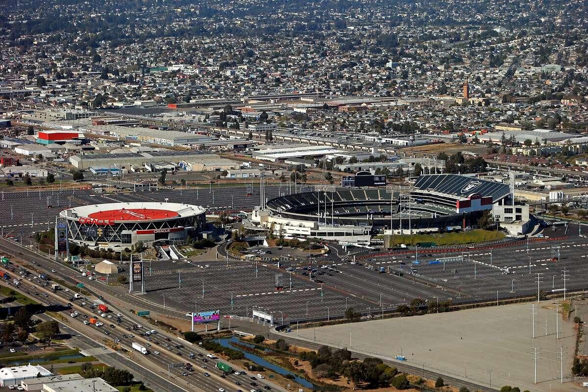 Oakland Coliseum Complex in Oakland, Calif., on Thursday, October 6, 2016.