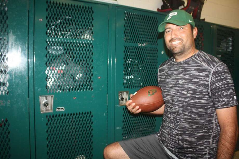 After 13 years, David Zapien is returning home to Pasadena ISD as Pasadena High School's new offensive coordinator. After coaching stops in Corpus Christi and Dallas, Zapien, at the age of 31, will be one of the younger offensive coordinators at a 6A program in the entire state. Photo: Robert Avery