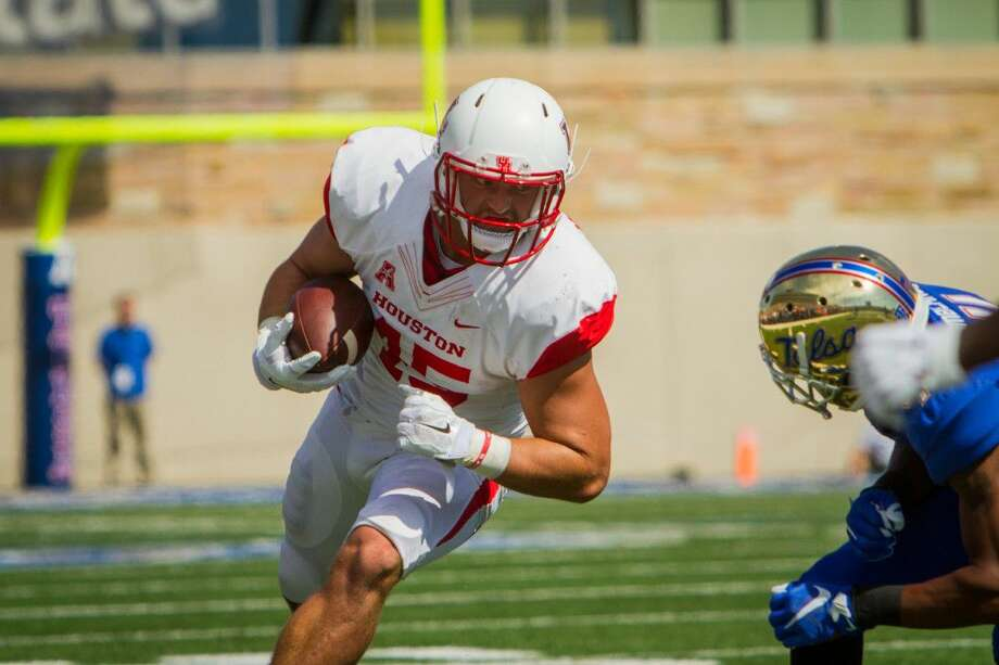 Memorial graduate Tyler McCloskey started 13 of 14 games at tight end as a junior, amassing a career-high 14 receptions for 157 yards and a touchdown.