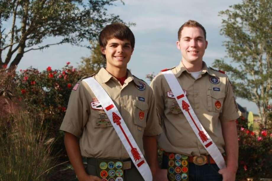 Cory Christoffersen (left), Tony Steinbrecher Photo: Submitted