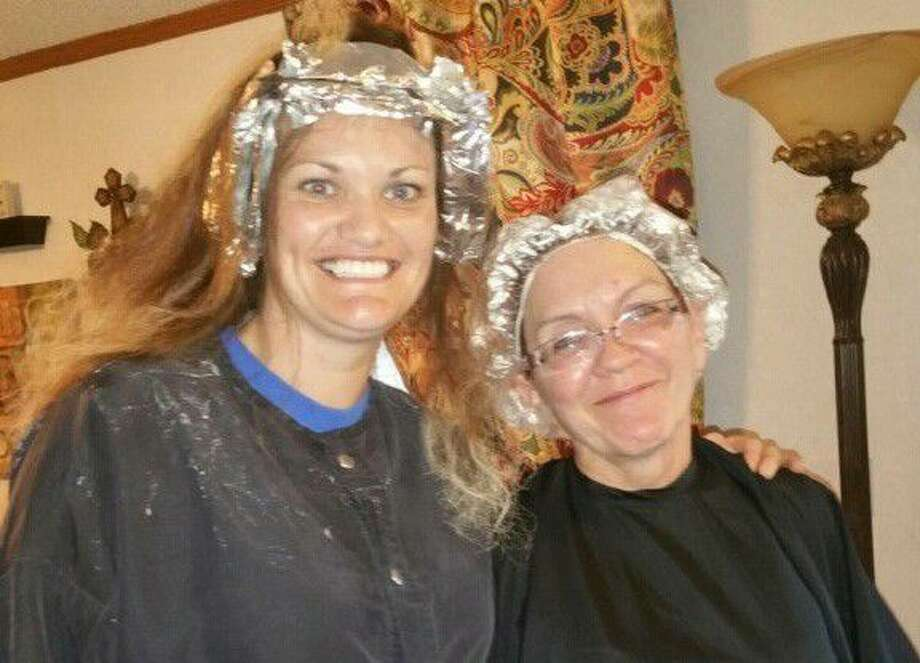 Women at Heaven's Army get their hair styled. Local salons have partnered with Crown of Glory Ministry to host a Cut-A-Thon Sunday, Aug. 14, to raise money for renovations to Heaven's Army's new transitional home.