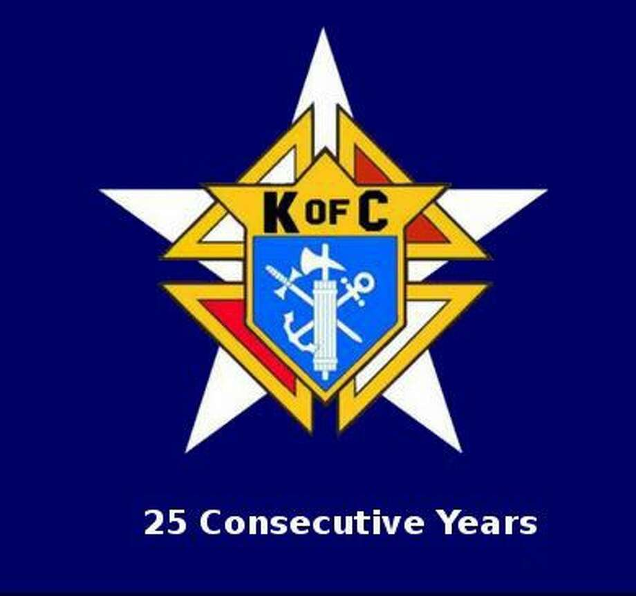 the Knights of Columbus Council #6878 housed at St. Mary Magdalene Catholic Church in Humble earned the distinction of Star Council, one of the organization's top awards, for the 2015-2016 fraternal year ending in June. This is the Council's 25th consecutive year of receiving the award.