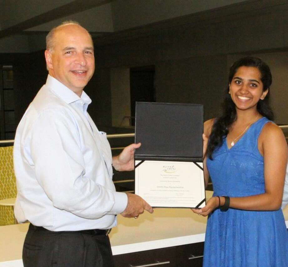 Smrithi Ramachandran recently received a scholarship from the Ascend Cares Foundation.