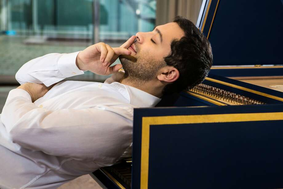 Harpsichordist Mahan Esfahani's tal ent was undone by a lack of decorum. Photo: Bernhard Musil/Deutsche Grammophon