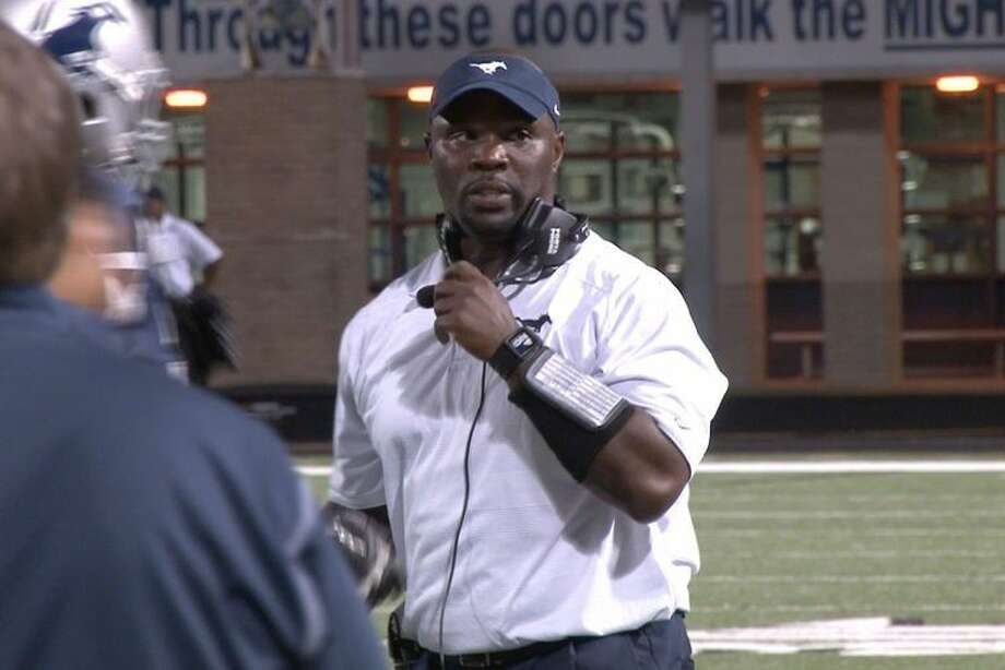 Ronald Patton was is Cy Lakes' second head football coach. The Langham Creek and Texas A&M graduate says that the Spartans have spent the offseason getting bigger, stronger and faster and fans can expect to see the results play out on the field. Photo: CFISD Communications