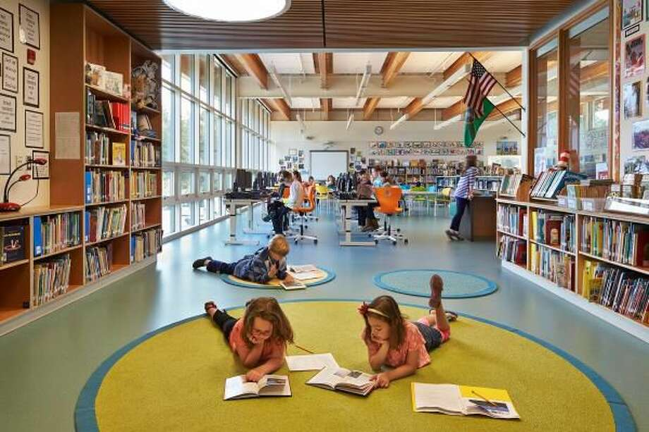 Wilkes Elementary School, designed by Mahlum Architects, winner of AIA Design Award