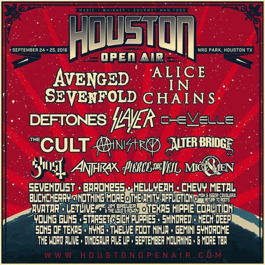 Houston Open Air will be at NRG Park near NRG Stadium.