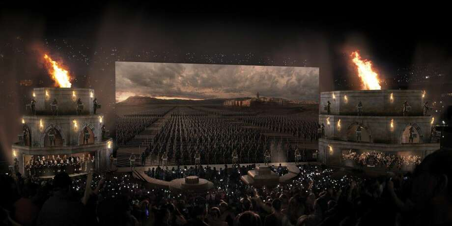 Concept art of Game of Thrones Live Concert Experience. Photo: Courtesy Photo