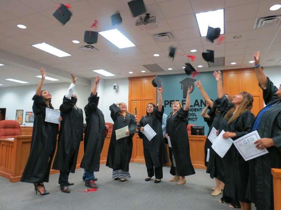 Adult Reading Center graduates celebrate. Photo: Submitted Photo