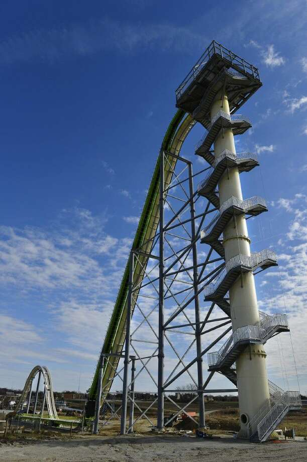 A 10-year-old boy died Sunday on the Kansas water slide that is billed as the world's largest, according to officials.
